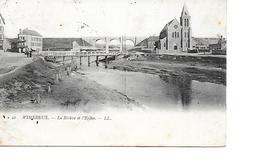 62 WIMEREUX Cpa La Rivière Et L'Eglise 42 LL - France