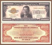 USA 1 Million Dollars 2009 UNC. Ronald Reagan - Andere