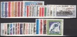 Année 1968 - Du N° 736 Au N° 771 + PA N° 92 - Oblitérés - - Monaco