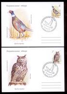 Transnistria 2019 Europa National Birds 2FDCs Privat Rare!!! - Moldavia