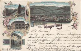 Old Postcard Campulung Moldovenesc Litho - Rumänien