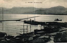 ALGERIE - BOUGIE UN COIN DU PORT - Bejaia (Bougie)