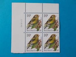 A - 10 '%  BLOC DE  4 N° 2461   DATE - 1985-.. Oiseaux (Buzin)