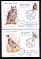 Transnistria 2019 Europa National Birds 2FDCs Privat Rare!!! Postally Used - Moldova