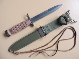Rare Baïonnette USM4 CAMILLUS De 1953, Contrat Militaire US Pour La Guerre De Corée. - Armes Blanches