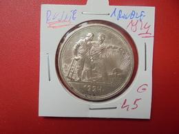RUSSIE 1 ROUBLE 1924 (Légerement Laquée !) - Russland