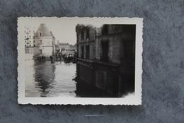 Châtellerault 86100 Crue Vienne Pont Henri IV 1944 010CP02 - Chatellerault