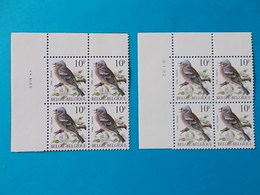 A - 10 '%  BLOCS  DE  4 N° 2351  DATE - 1985-.. Oiseaux (Buzin)