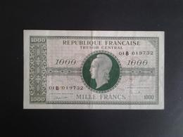 1000 FRANCS  MARIANNE CHIFFRES GRAS 1945 SERIE  01B - Tesoro