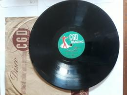 CGD  Dancing  -  1952.  Serie  PV  Nr. 1801.  Rose Di Picardia - 78 Rpm - Schellackplatten