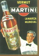 CALENDARIO PUBLICITARIO 00250: Vermut Martini - Calendarios