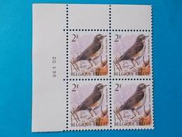 A - 10 '%  BLOC DE  4 N° 2653  DATE - 1985-.. Oiseaux (Buzin)