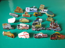 PIN'S   Lot  20 Camions - Transports