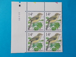 A - 10 '%  BLOC DE  4 N° 2623  DATE - 1985-.. Oiseaux (Buzin)