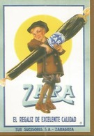 CALENDARIO PUBLICITARIO 00283: Regaliz Zara. Zaragoza - Calendarios