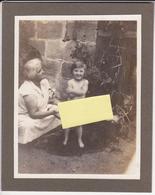 Le Bain De Marie Septembre 1929 Fillette Nue - Anonymous Persons
