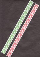 Roulettes De 11 Des N° 2157 Et 2158 - Neufs ** - Sabine - N° Rouge - Rollen