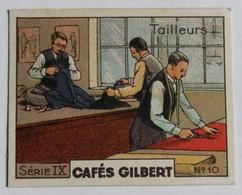 Chromo Café Gilbert Poitiers Les Tailleurs De Vêtements Thême Les Métiers - Thé & Café