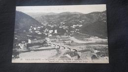 CPA 07 Vals Les Bains - Quartier Et Pont De La Bégude - Vals Les Bains