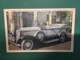 Cartolina President Franklin D. Roosvelt At The Entrance - 1930 Ca. - Cartoline