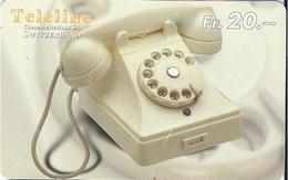 SWITZERLAND - TELELINE - TELEPHONE 4 - Suriname