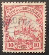 N°68 TIMBRES DEUTSCHES REICH OBLITERES - Colonia: Sudafrica – Occidental
