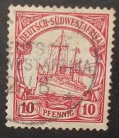 N°69 TIMBRES DEUTSCHES REICH OBLITERES - Colonia: Sudafrica – Occidental