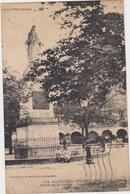 CASTELNEAU-MONTRATIER-(46)- C.P.A. - N°1715- STATUE DE LA VIERGE.PLACE GAMBETA. - Altri Comuni