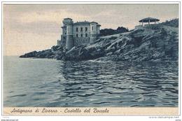 ALTIGNANO  DI  LIVORNO (LI):  CASTELLO  DEL  BOCCALE  -  PER  LA  CROAZIA  -  FP - Castelli