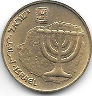 *israel 10 AGAROT 1998 KM 173 Unc - Israel