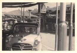 """D9296 """"FIAT 1100 TV - TURISMO VELOCE ANNI '50 XX SECOLO"""" FOTOGRAFIA ANIMATA, LUNAPARK - Automobili"""