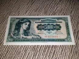 YUGOSLAVIA 500 DINARA 1955. AUNC UNC - Yougoslavie