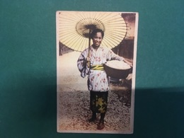 Cartolina Giappone - Contadina - 1930 Ca. - Cartoline