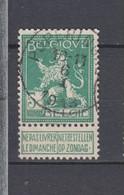 COB 110 Oblitération Centrale POPERINGHE - 1912 Pellens
