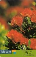 TARJETA TELEFONICA DE NUEVA ZELANDA, FLORA, Pohutukawa / Flower. NZ-C-136. (024) - Flores