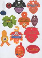 Etiquettes De Fruits : Raisins Lot 17 - Fruit Labels Grapes Lot # 17UVA - UVAS - Obst Und Gemüse