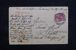 ALLEMAGNE - Affranchissement De Lauterbach Sur Carte Postale En 1909 Pour La France - L 31164 - Covers & Documents