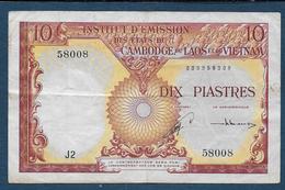 INDOCHINE - Billet De 10 Piastres - Indochina