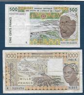 SENEGAL - 2  Billets - Senegal