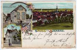 68 : Gruss Aus  Sierenz ( 1900 ) - France