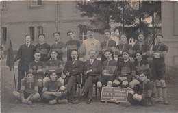 03-MOULIN- CARTE-PHOTO- LYCEE BANVILLE- SOCIETE SPORTIVE CHAMPION BOURBONNAIS 1912/13 - Moulins