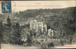 Cp Labastide Rouairoux Tarn, Chateau Caylus, Vue Générale - Autres Communes