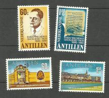 Antilles Néerlandaises N°623, 624, 635, 636 Neufs**  Cote 6 Euros - Curacao, Netherlands Antilles, Aruba