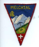 Ecusson MELCHTAL Suisse Blason Patch Tissu - Ecussons Tissu