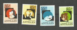 Antilles Néerlandaises N°640 à 643 Neufs**  Cote 6 Euros - Curacao, Netherlands Antilles, Aruba