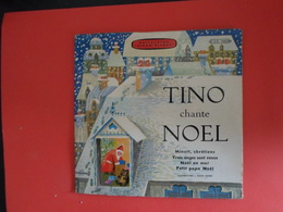VINYLES   45 T  Chants De Noël  Tino Rossi - Weihnachtslieder