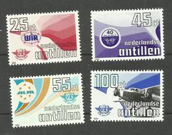 Antilles Néerlandaises N°703 à 706 Neufs**  Cote 6 Euros - Curacao, Netherlands Antilles, Aruba