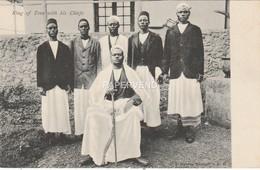 Uganda  King Of Toro With His Chiefs U196 - Uganda