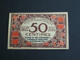 Chambre De Commerce De NICE - 50 Centimes 1917    **** EN ACHAT IMMEDIAT **** - Handelskammer