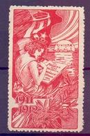 CINDERELLA ERINNOFILIA CIVILTA' 1911-12 (GIUGN1900B5) - Erinnofilia